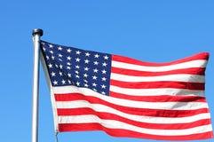 Versão de 48 estrelas da bandeira dos E.U. imagens de stock