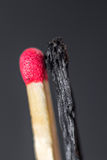 Versão do matchstick de Yin yang Foto de Stock Royalty Free