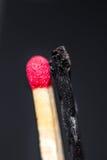 Versão do matchstick de Yin yang Fotos de Stock