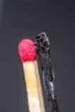 Versão do matchstick de Yin yang Imagens de Stock