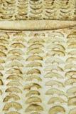 Versüßter Apfelkuchen Stockfoto