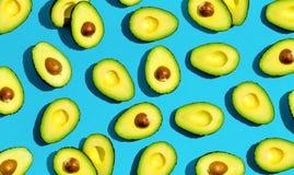 Vers avocadopatroon stock foto's