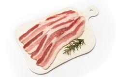 Vers bacon Stock Foto's