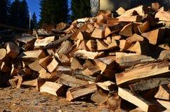 Vers brandhout Stock Fotografie