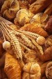 Vers brood en gebakje Royalty-vrije Stock Afbeelding