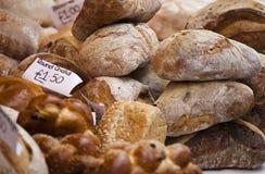 Vers brood op markt Stock Afbeeldingen