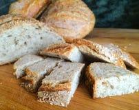 Vers brood van Zuurdesem aan Steekproef Stock Fotografie