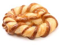 Vers buitensporige gebakken pretzel. Stock Afbeelding