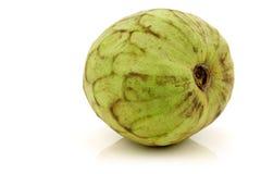 Vers cherimoya fruit (Annona cherimola) Royalty-vrije Stock Afbeelding