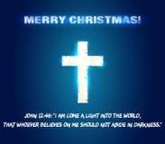 Vers de bible de Chrismas Image libre de droits