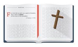 Vers de bible pour l'étude de bible illustration stock