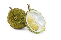 Vers durian, tropisch fruit Stock Afbeelding