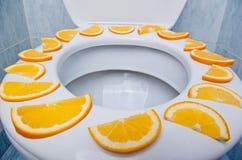 Vers en Schoon Toilet Royalty-vrije Stock Foto's