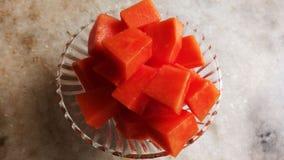 Vers en zoet organisch fruit met stijl en sappig stock fotografie