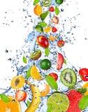 Vers fruit stock foto's