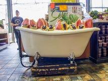 Vers fruit! Stock Afbeelding