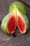 Vers fruit - sappig groen organisch fig. Royalty-vrije Stock Afbeelding