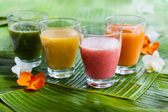 Vers fruit smoothies stock foto
