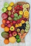 Vers fruitinzameling royalty-vrije stock foto's
