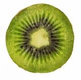 Vers geïsoleerd gesneden Kiwifruit Stock Foto's