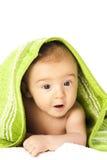 Vers gebade baby Royalty-vrije Stock Afbeelding