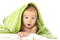 Vers gebade baby Stock Foto's