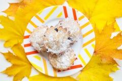 Vers gebakje - cupcakes stock foto's