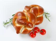 Vers gebakken broodjes Royalty-vrije Stock Afbeelding
