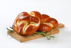 Vers gebakken broodjes Royalty-vrije Stock Fotografie