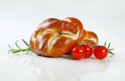Vers gebakken broodjes Stock Foto's