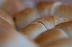 Vers gebakken broodjes Stock Afbeelding