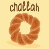 Vers gebakken challah Royalty-vrije Stock Afbeelding