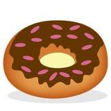 Vers gebakken doughnut Royalty-vrije Stock Afbeeldingen