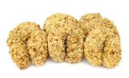 Vers gebakken koekjes Royalty-vrije Stock Foto