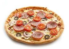 Vers gebakken pizza Stock Fotografie