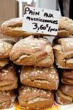 Vers gebakken Wholegrain brood Royalty-vrije Stock Fotografie