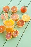 Vers gedrukt bloedjus d'orange stock afbeeldingen