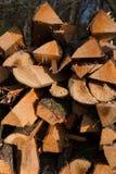 Vers gehakt hout Royalty-vrije Stock Afbeelding