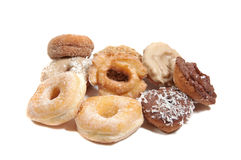 Vers gemaakt donuts Stock Afbeeldingen