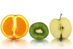 Vers gesneden fruit royalty-vrije stock foto