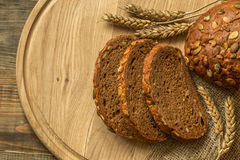 Vers geurig brood Stock Foto