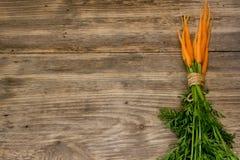 Vers gewassen gehele wortelen stock afbeeldingen