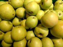 Vers groen appelenclose-up Royalty-vrije Stock Foto