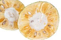 Vers hefboom-fruit op witte achtergrond Royalty-vrije Stock Afbeeldingen