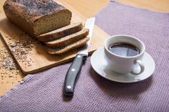 Vers het gebakken banting & x28; paleo& x29; brood Stock Fotografie