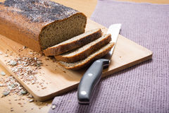 Vers het gebakken banting & x28; paleo& x29; brood Stock Afbeeldingen