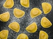 Vers Italiaans de Deegwarenvoedsel van de Stijlravioli royalty-vrije stock afbeeldingen