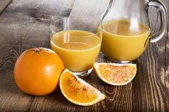 Vers Jus d'orange Royalty-vrije Stock Foto's