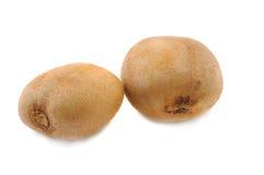 Vers kiwifruit op een witte achtergrond Royalty-vrije Stock Foto