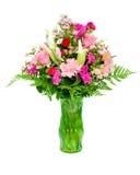 Vers, kleurrijk professioneel bloemstuk Royalty-vrije Stock Afbeelding